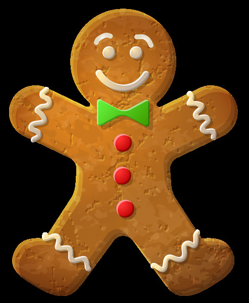 Christmas Cookies Png  Gingerbread Man Ornament PNG Clip Art Image