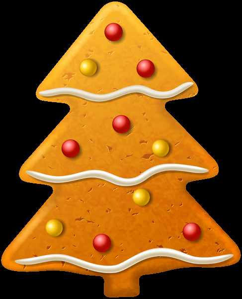 Christmas Cookies Png  Christmas Cookie Tree PNG Clipart Image