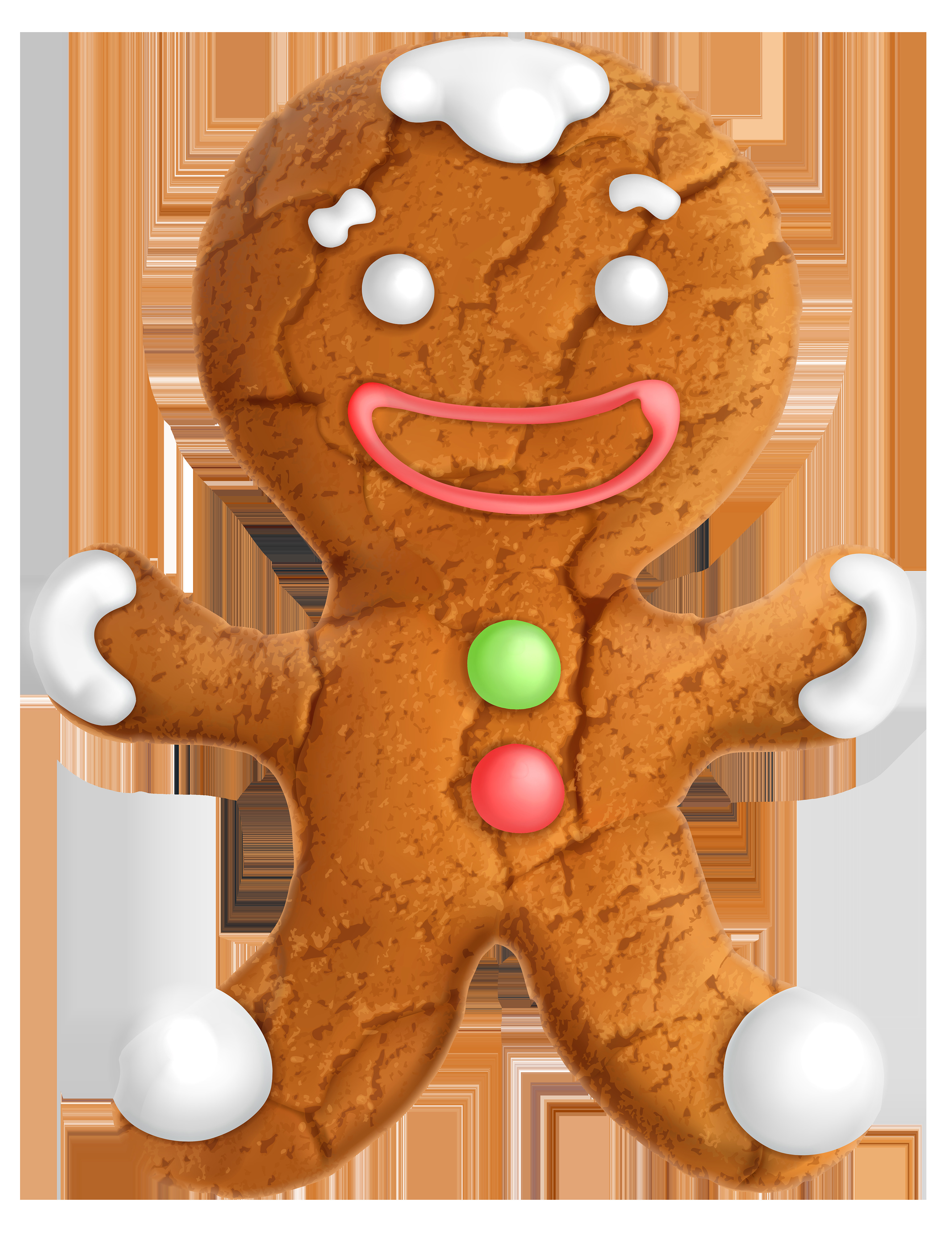Christmas Cookies Png  Gingerbread Ornament PNG Clip Art Image