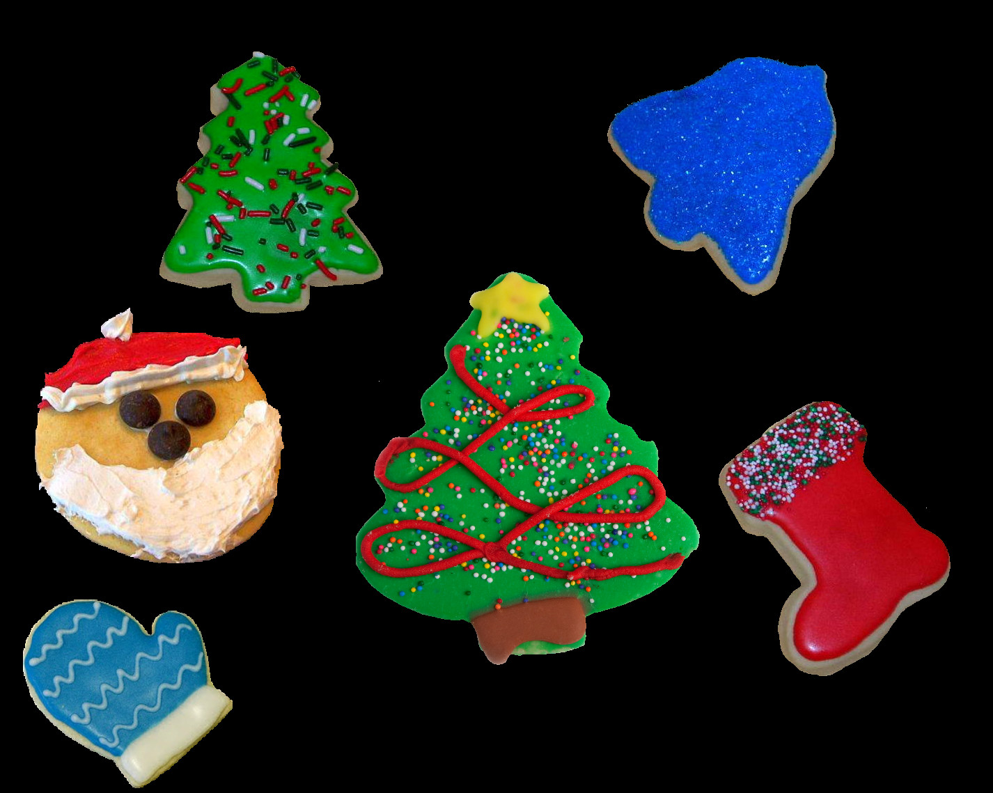 Christmas Cookies Png  Christmas Cookies by 1purplepixie on DeviantArt