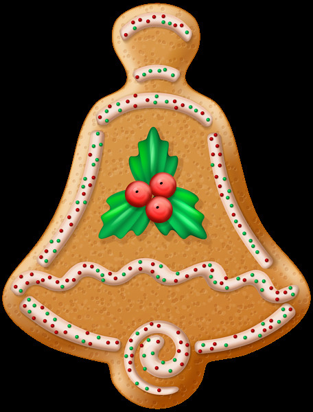 Christmas Cookies Png  Christmas Cookie Bell Transparent PNG Clip Art Image