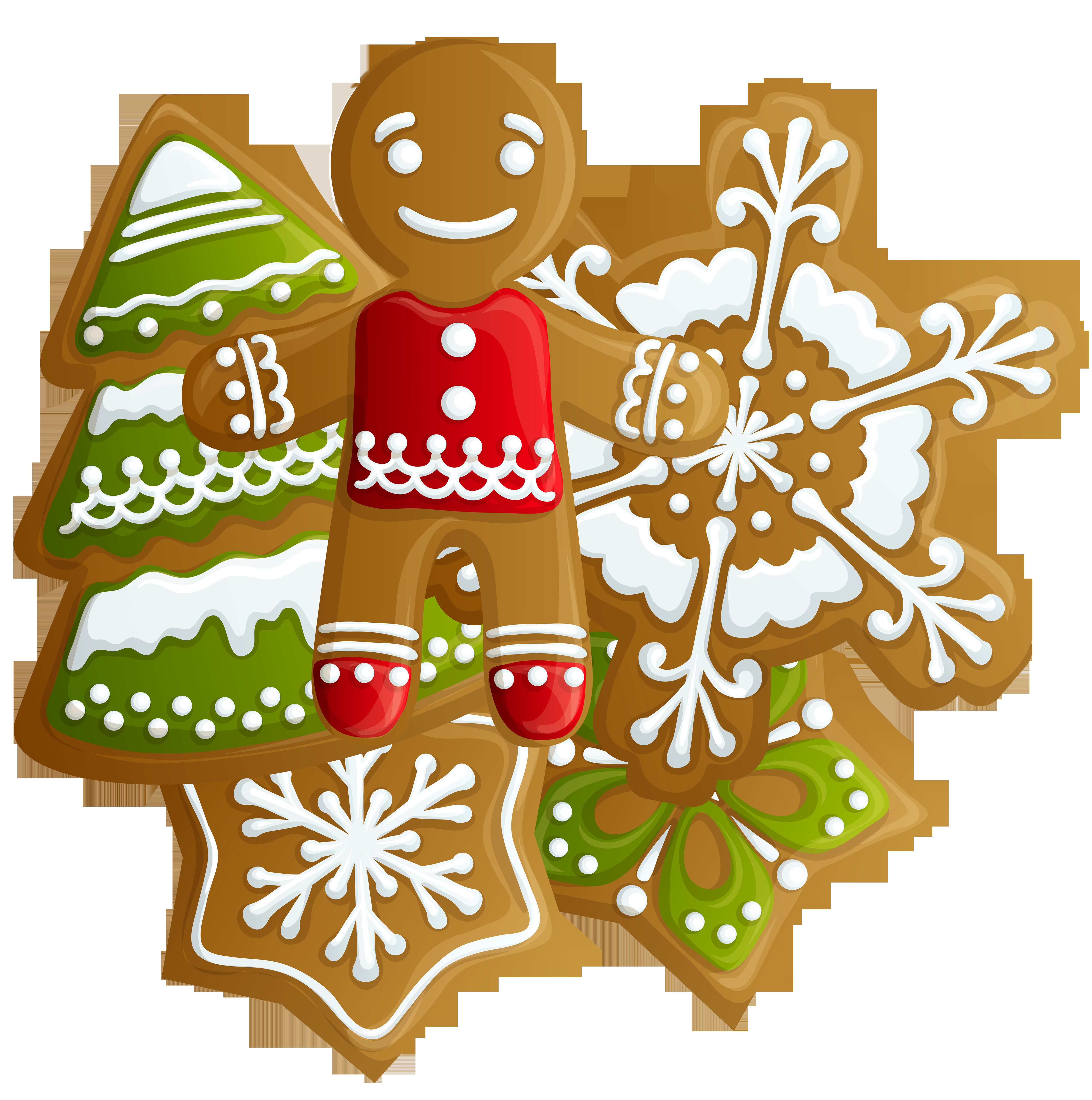 Christmas Cookies Png  Transparent Christmas Gingerbread and Cookies PNG Clipart