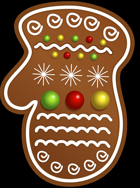Christmas Cookies Png  Christmas Cookie Glove PNG Clipart Image