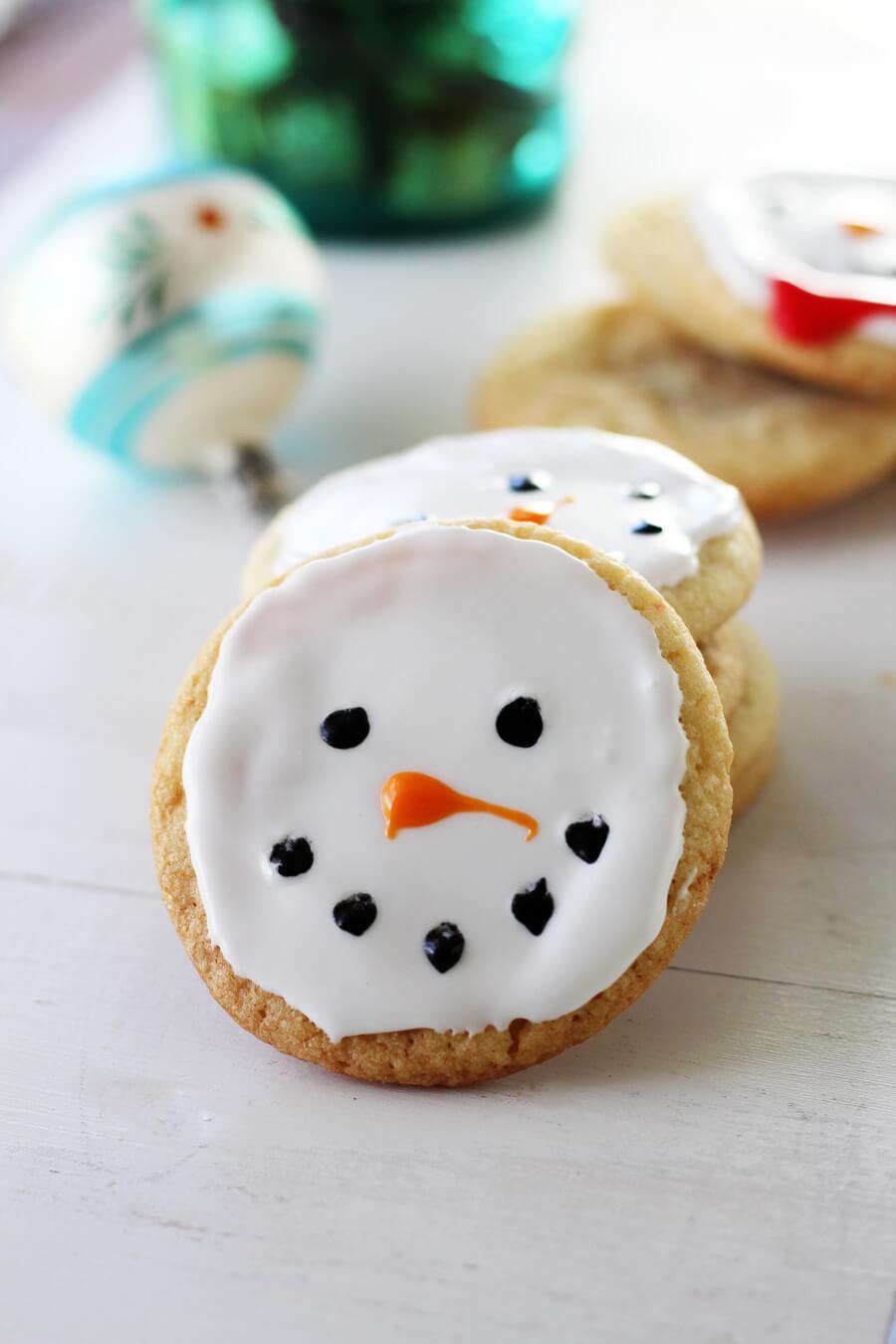 Christmas Cookies To Buy  Snowman Christmas Cookies