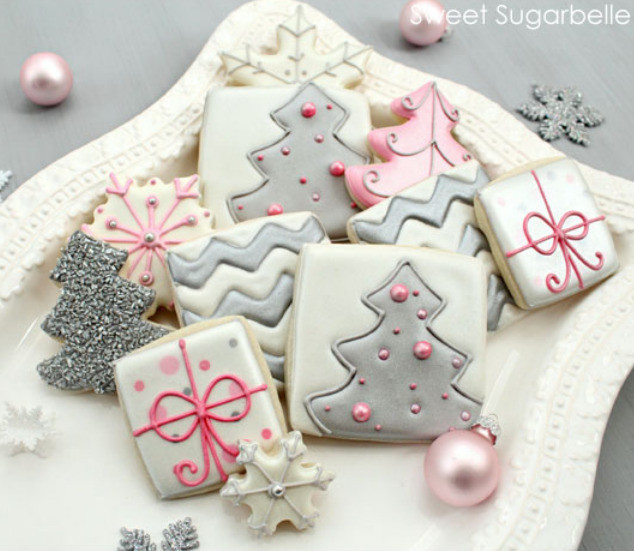 Christmas Cookies Tumblr  Classy Miss Molassy Modern Christmas Cookie Decorating