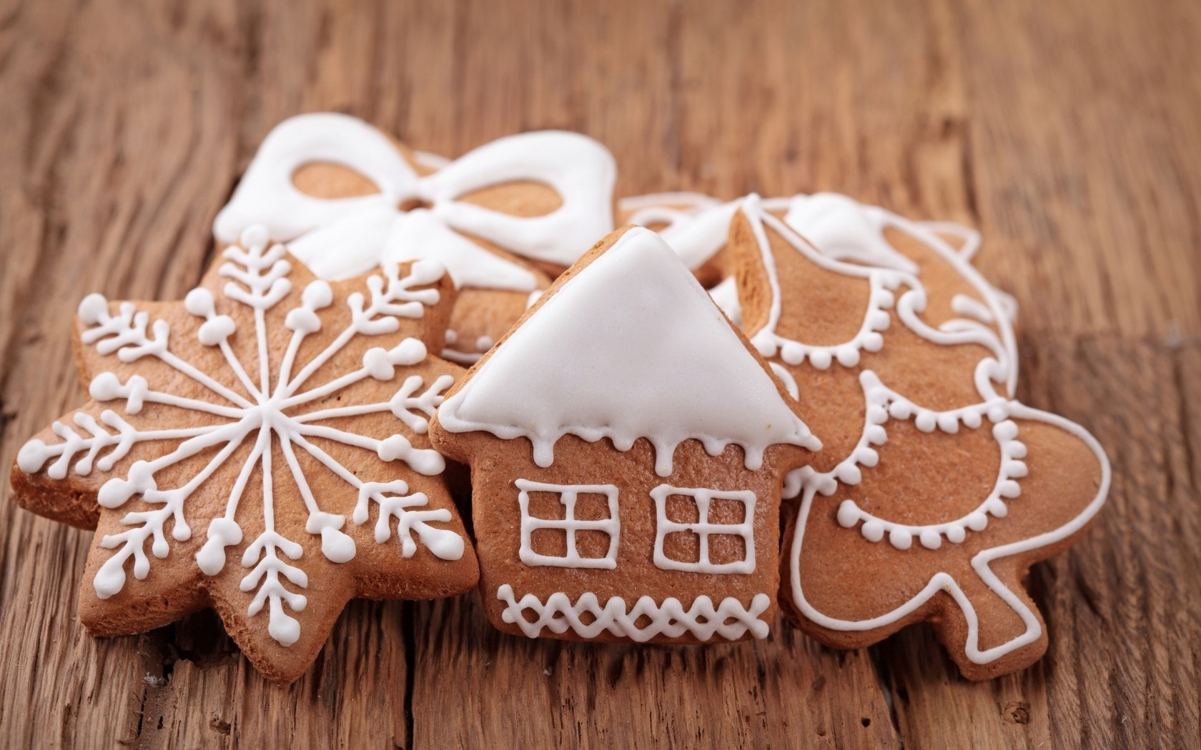 Christmas Cookies Wallpaper  New Year Gingerbread Ornaments wallpapers