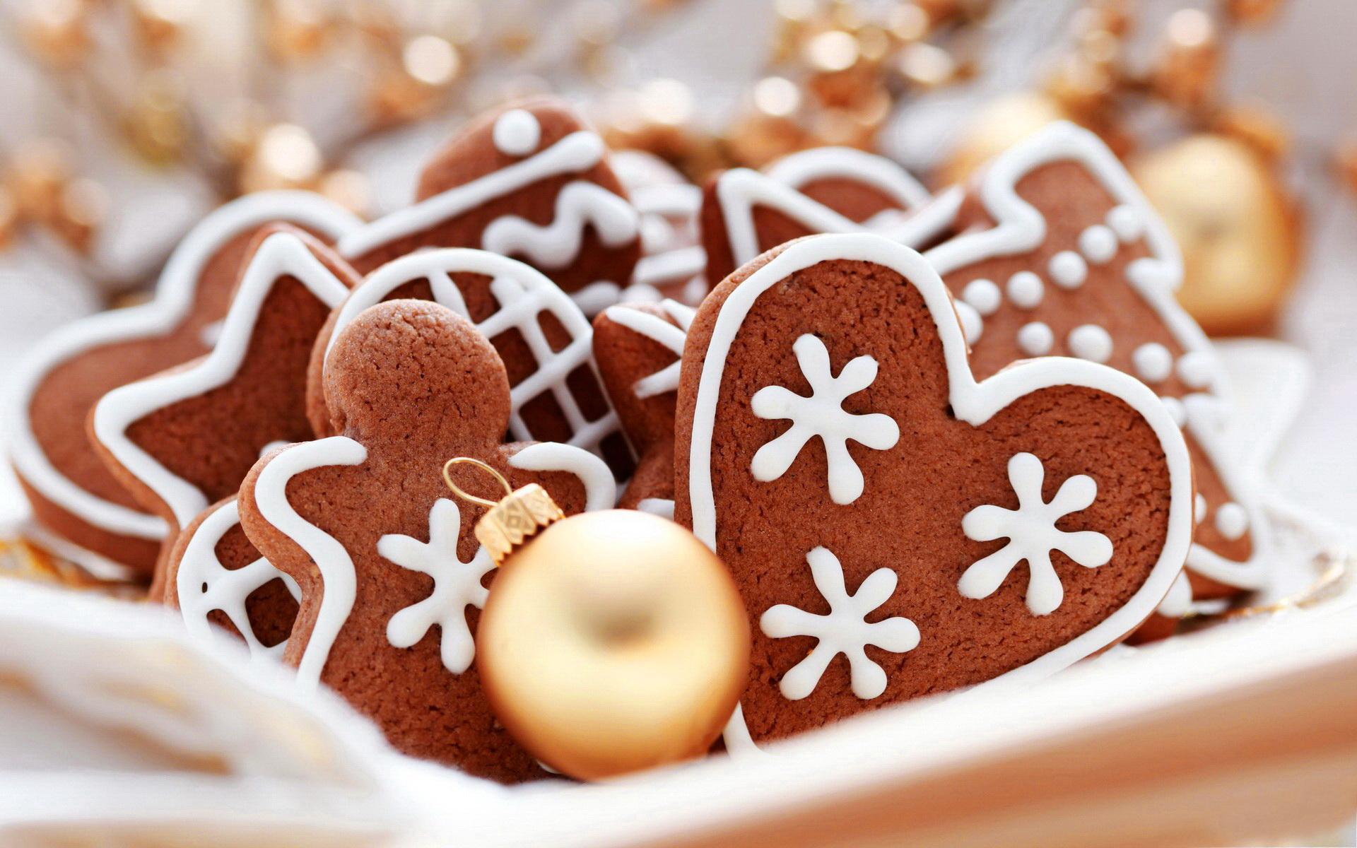Christmas Cookies Wallpaper  Cute Pastry wallpaper