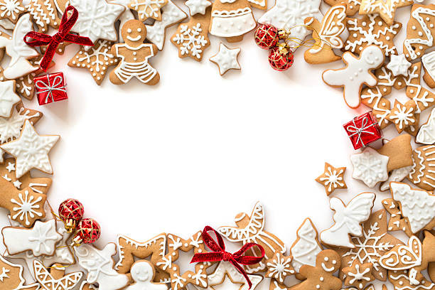 Christmas Cookies Wallpaper  Christmas Cookies and Stock s iStock