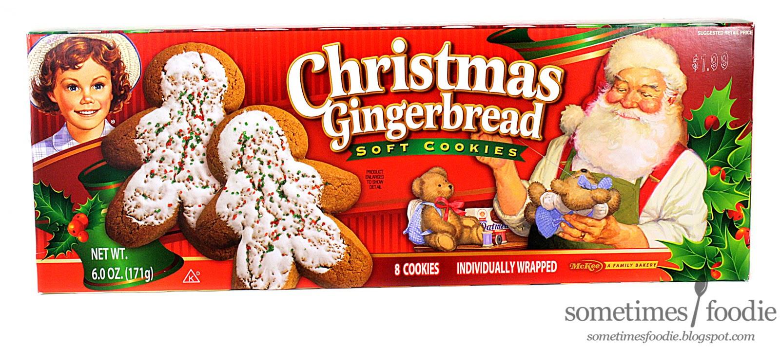 Christmas Cookies Walmart  Sometimes Foo Christmas Gingerbread Soft Cookies Walmart