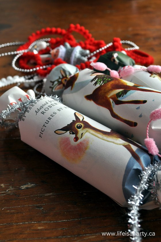 Christmas Crackers Diy  Vintage Inspired Homemade Christmas Crackers Life is a Party
