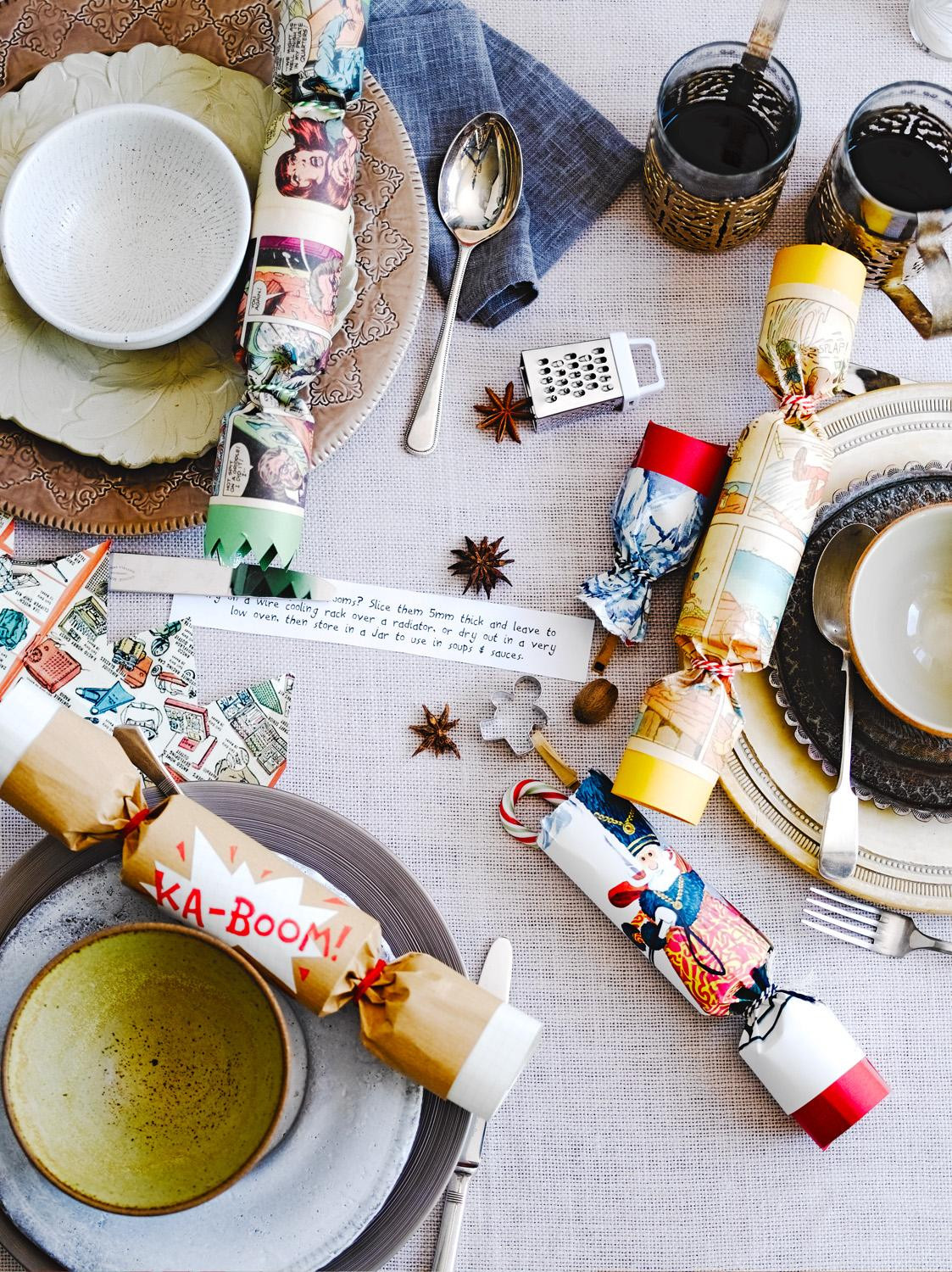 Christmas Crackers Diy  How to make homemade Christmas crackers Jamie Oliver