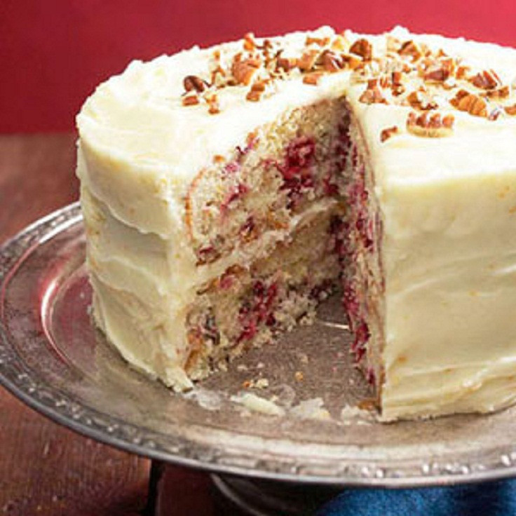 Christmas Cranberry Cake Recipe  Top 10 Cranberry Cake Recipes for Christmas Top Inspired