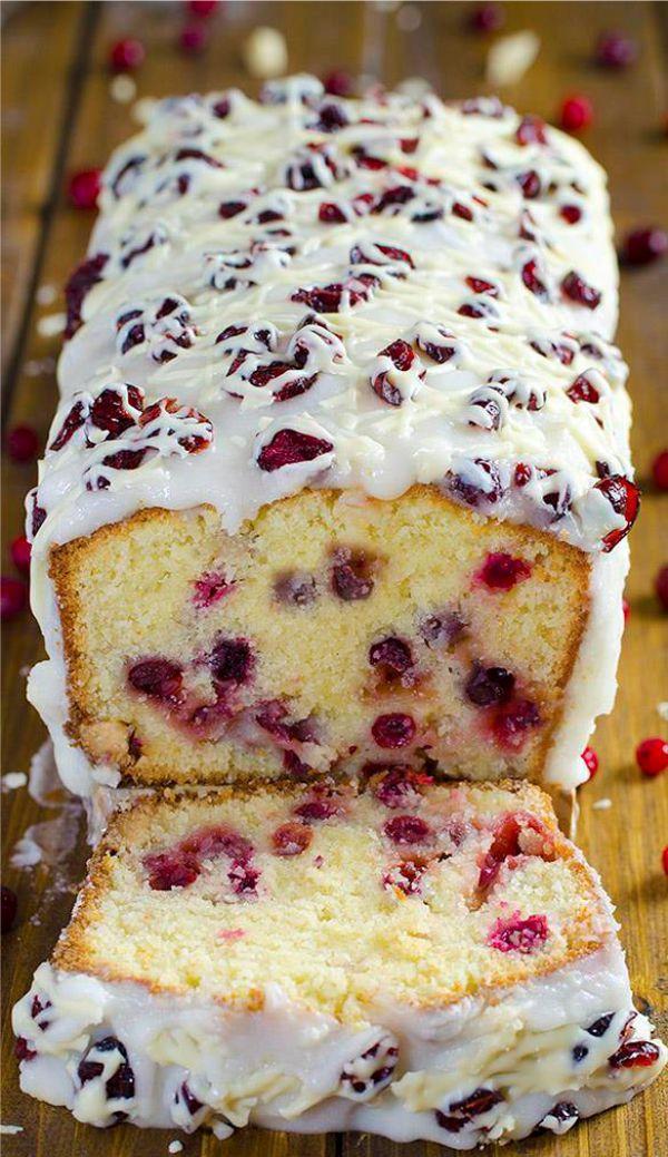 Christmas Cranberry Pound Cake  CHRISTMAS CRANBERRY POUND CAKE – Eat