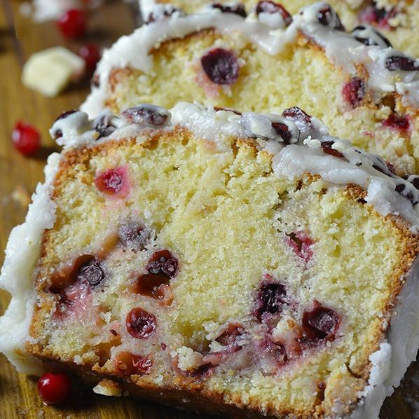 Christmas Cranberry Pound Cake  More My Favorite Cake Recipes 2 My Honeys Place
