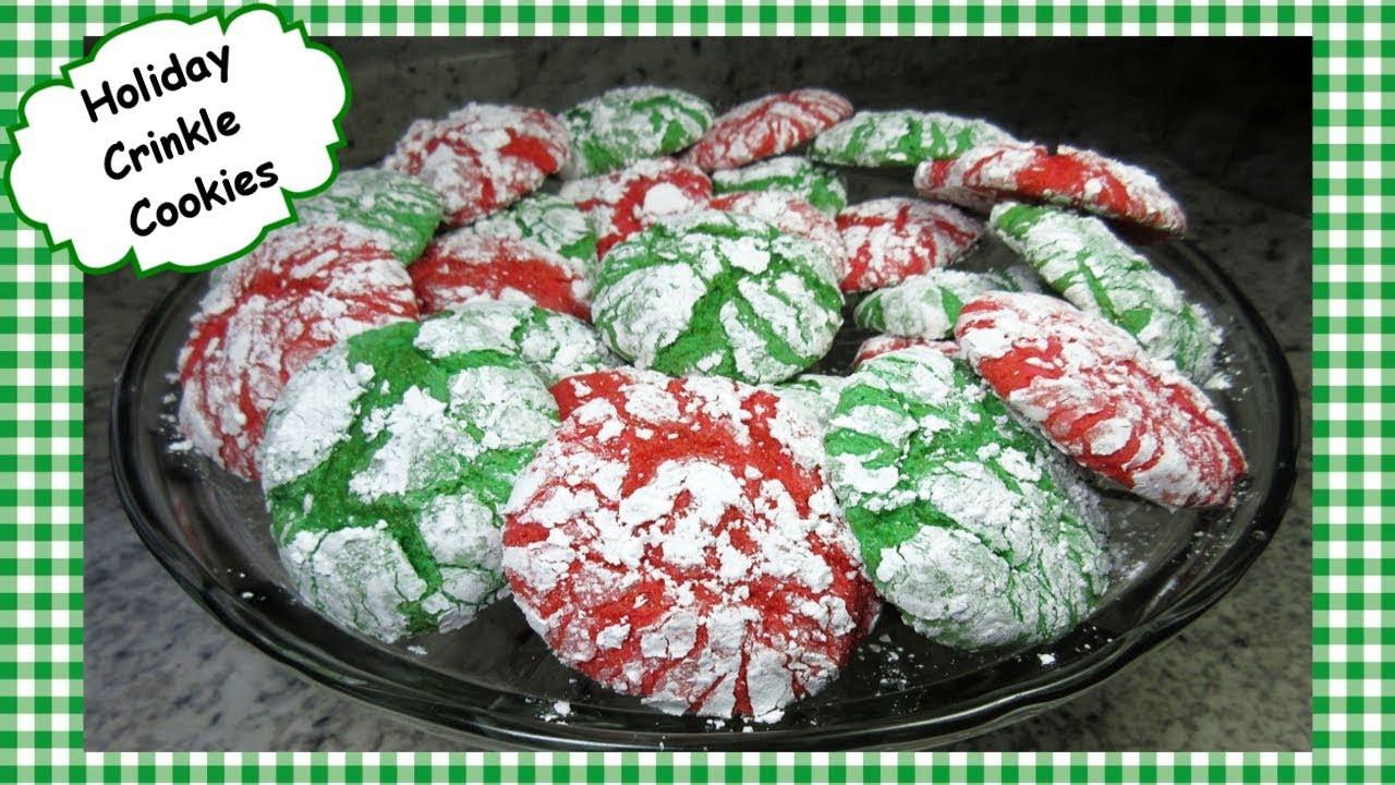 Christmas Crinkle Cool Whip Cookies  Christmas Crinkle Cookies Recipe Cake Mix & Cool Whip