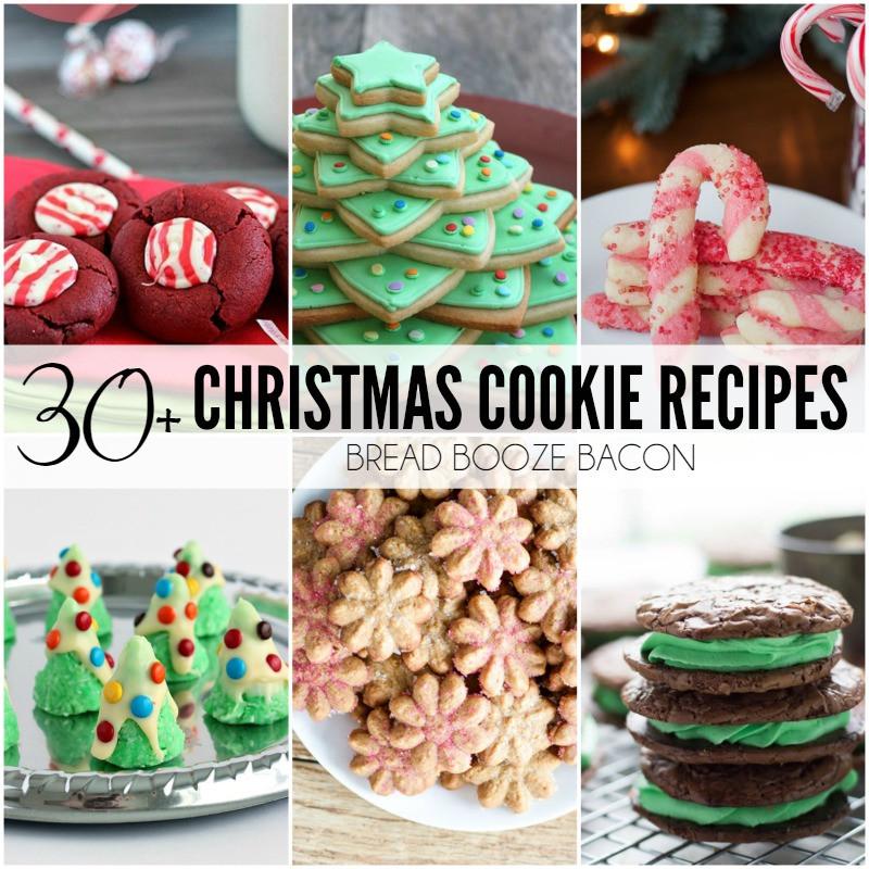 Christmas Crinkle Cool Whip Cookies  Christmas Crinkle Cool Whip Cookies Bread Booze Bacon