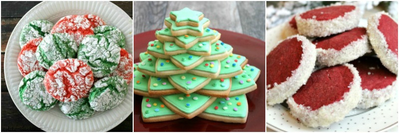 Christmas Crinkle Cool Whip Cookies  Christmas Cookie Pinwheels Yellow Bliss Road