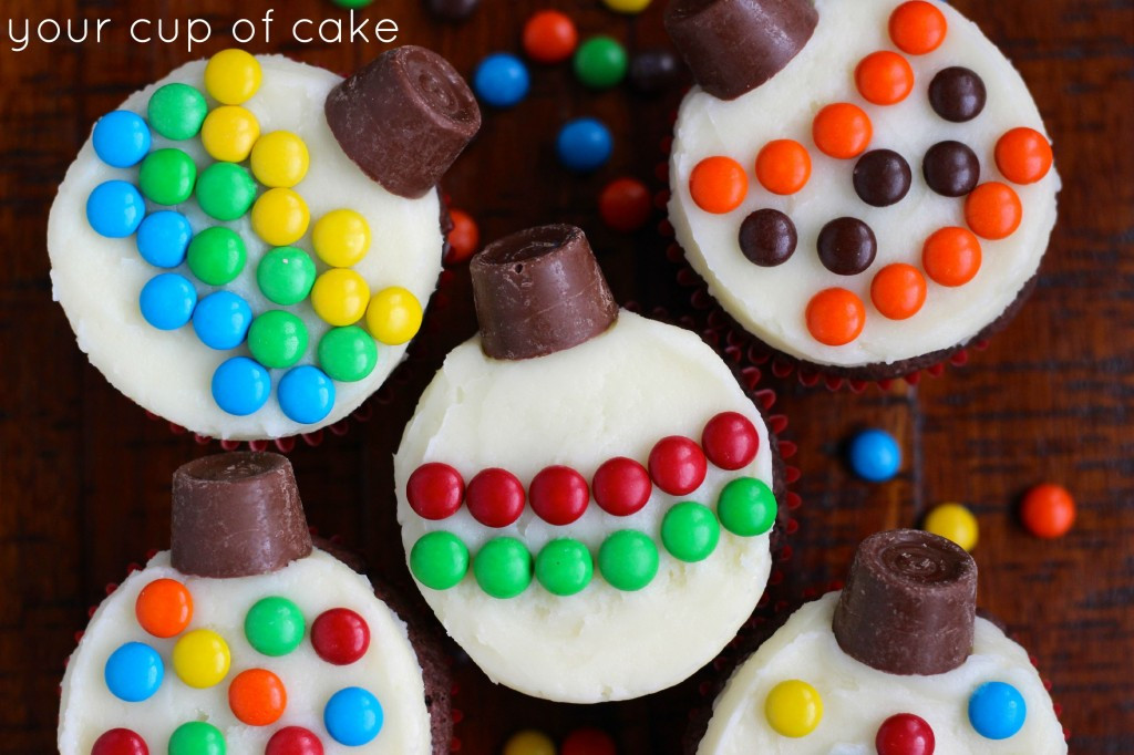 Christmas Cup Cakes Designs  Easy Cupcake Decorating for Christmas Your Cup of Cake