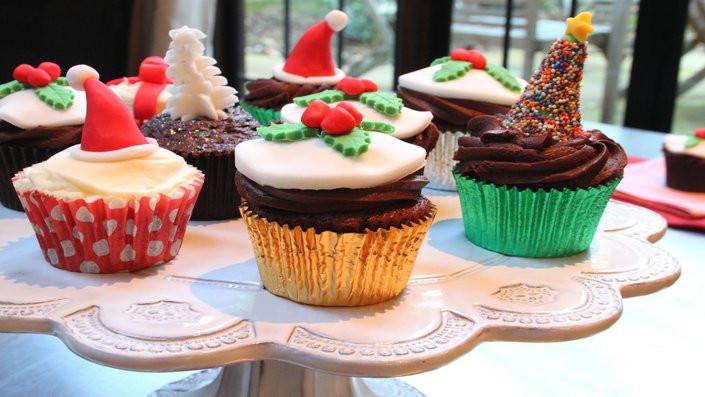 Christmas Cup Cakes  Christmas Recipes Recipes