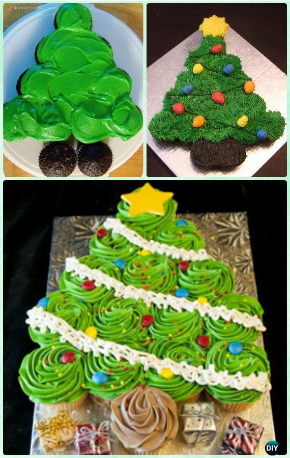 Christmas Cupcakes Cakes  Best 25 Cupcake cakes ideas on Pinterest