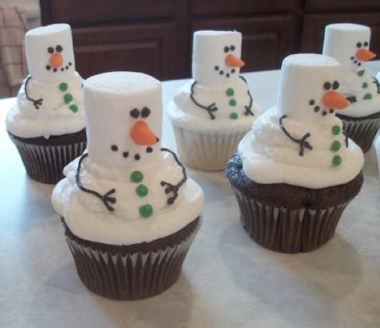 Christmas Cupcakes Images  9 Creative Christmas Cupcake Ideas Kids Kubby