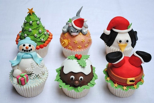 Christmas Cupcakes Images  Cute Food For Kids 41 Cutest and Most Creative Christmas