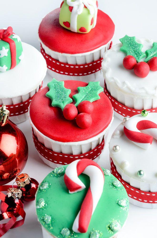Christmas Cupcakes Pinterest  Best 20 Christmas cupcakes decoration ideas on Pinterest