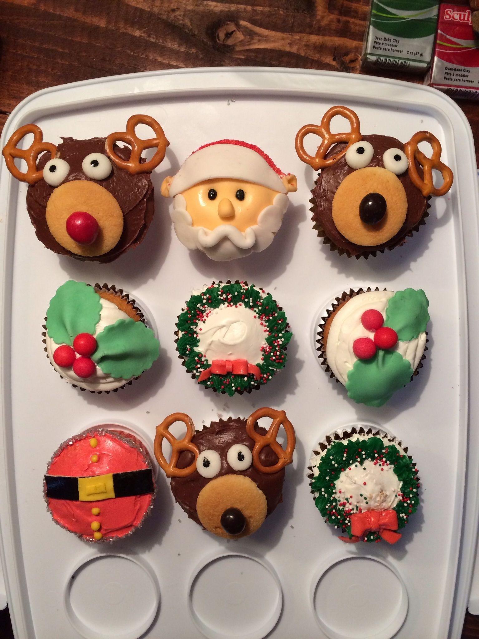 Christmas Cupcakes Pinterest  Christmas Cupcake ideas Cupcakes