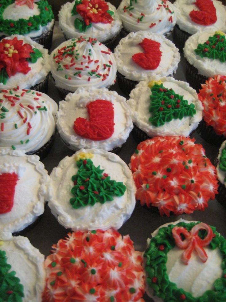 Christmas Cupcakes Pinterest  Christmas Cupcakes