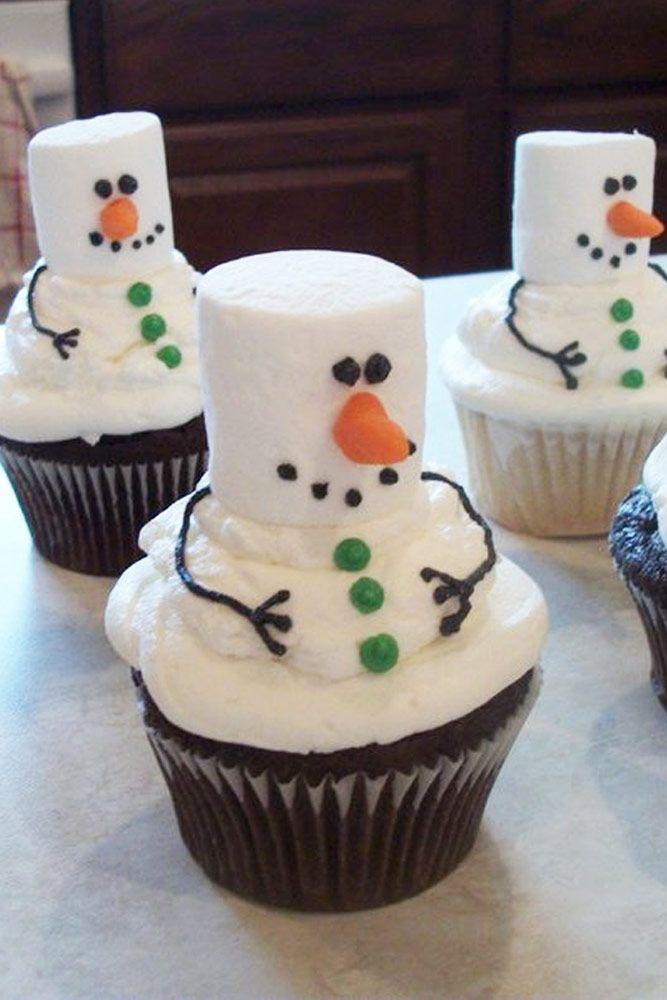 Christmas Cupcakes Pinterest  Best 25 Christmas cupcakes decoration ideas on Pinterest
