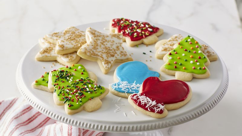 Christmas Cut Out Cookies  Classic Christmas Sugar Cookie Cutouts Recipe