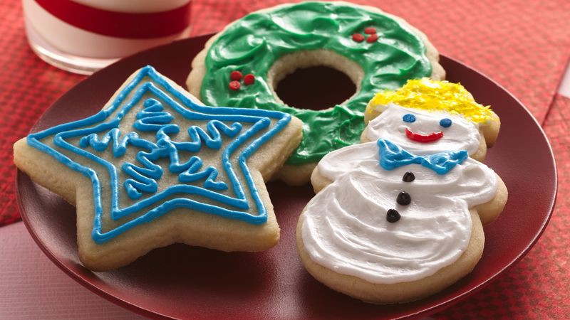 Christmas Cut Out Cookies  Easy Holiday Cutout Cookies Recipe BettyCrocker