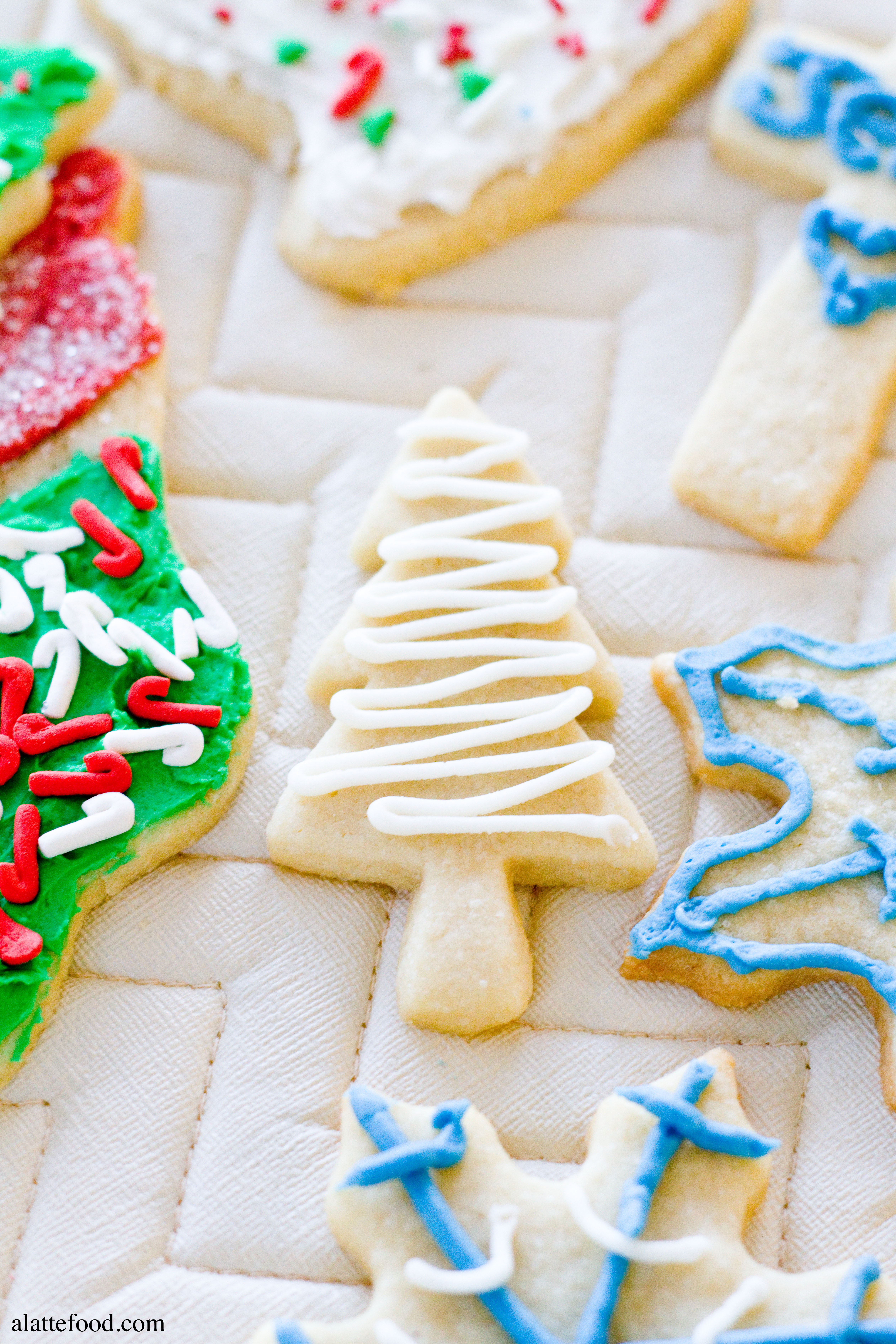 Christmas Cut Out Cookies  Soft Baked Cutout Sugar Cookies