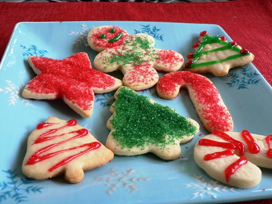 Christmas Cut Out Cookies  Christmas Cutout Sugar Cookies Recipe Food Network