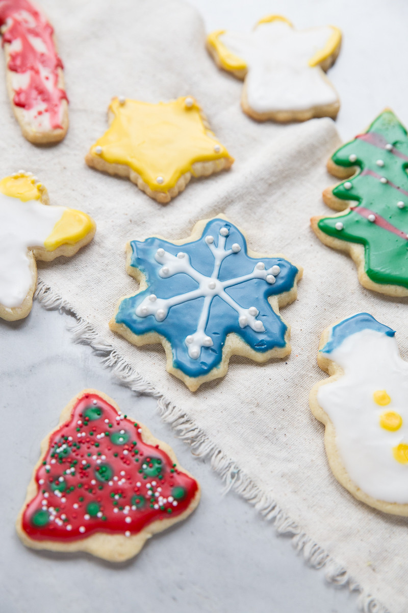 Christmas Cut Out Sugar Cookies  Christmas Cut Out Sugar Cookie Recipe