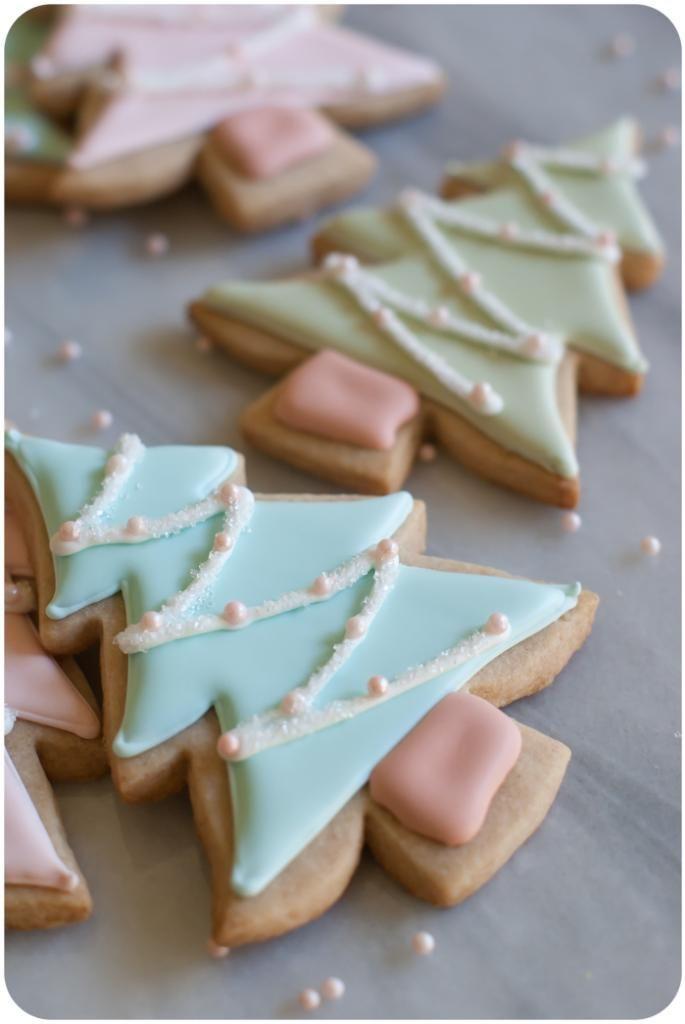 Christmas Cut Out Sugar Cookies  Cinnamon Sugar Cut Out Cookies Bake at 350°