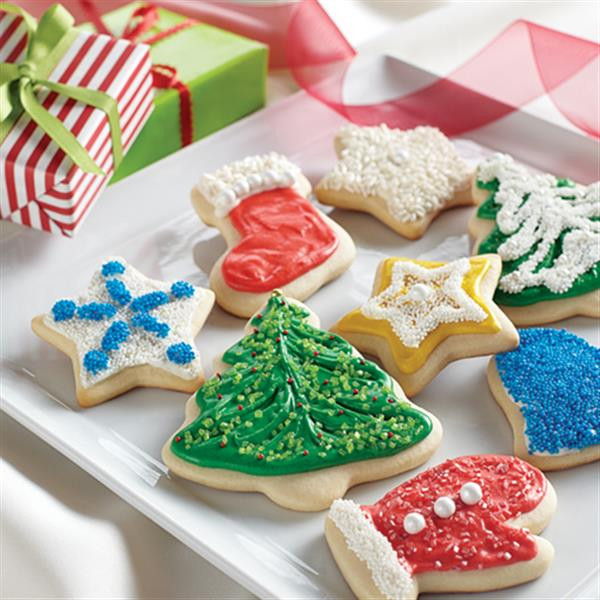 Christmas Cut Out Sugar Cookies  Holiday Cut Out Cookies