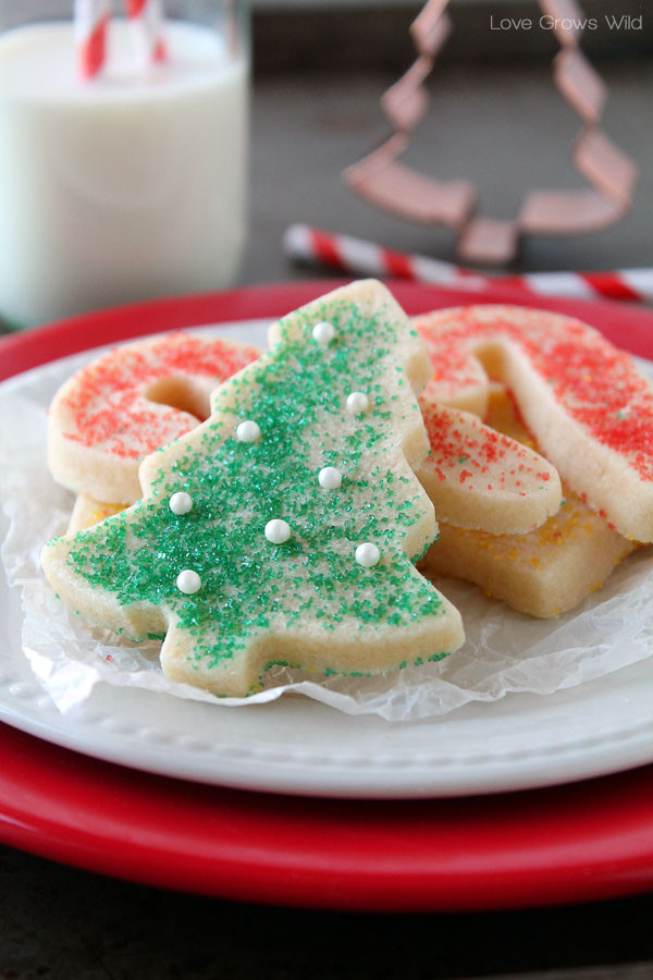 Christmas Cut Out Sugar Cookies  25 more Christmas cookie exchange recipes