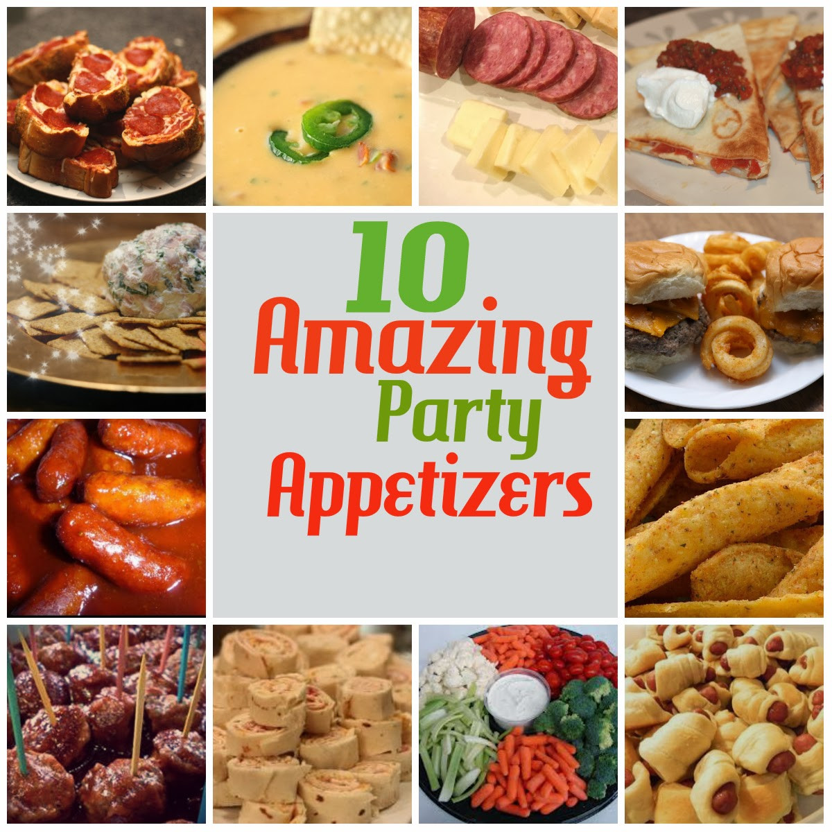 Christmas Day Appetizers  12 days of Christmas Day 11 Amazing Party Appetizers