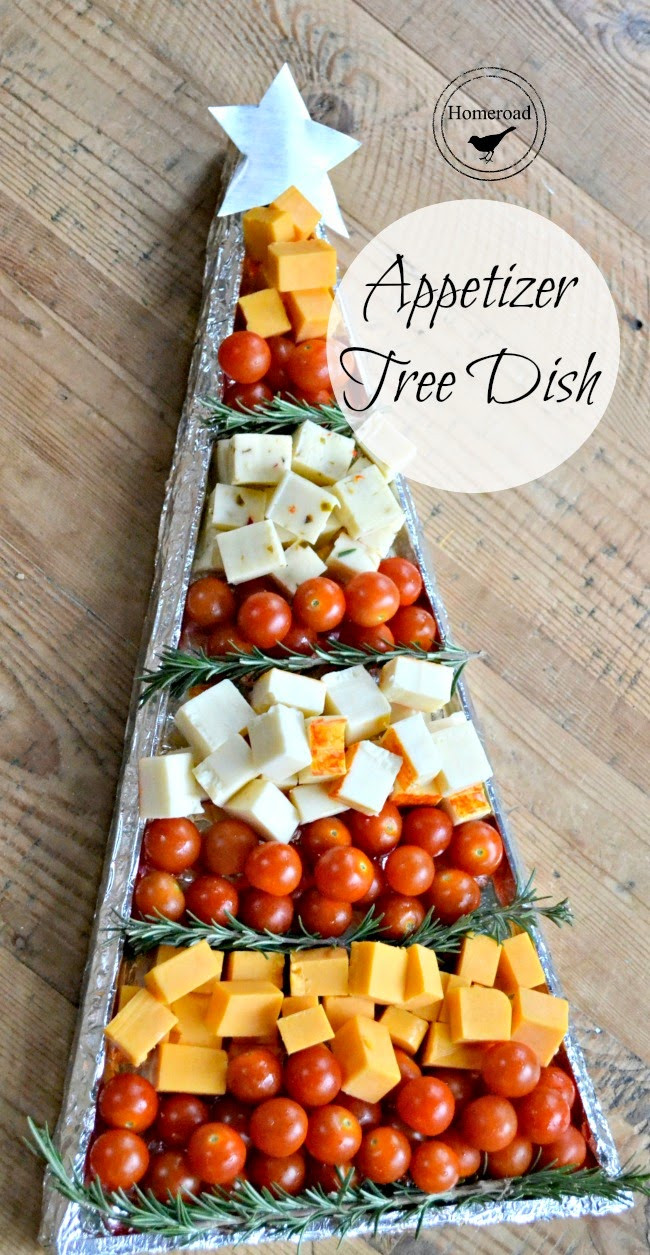 Christmas Day Appetizers  Christmas Appetizer Tree DIY Tray