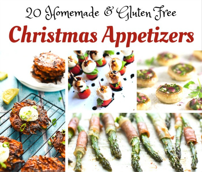 Christmas Day Appetizers  Here are a Few Gluten Free Christmas Appetizer Ideas to