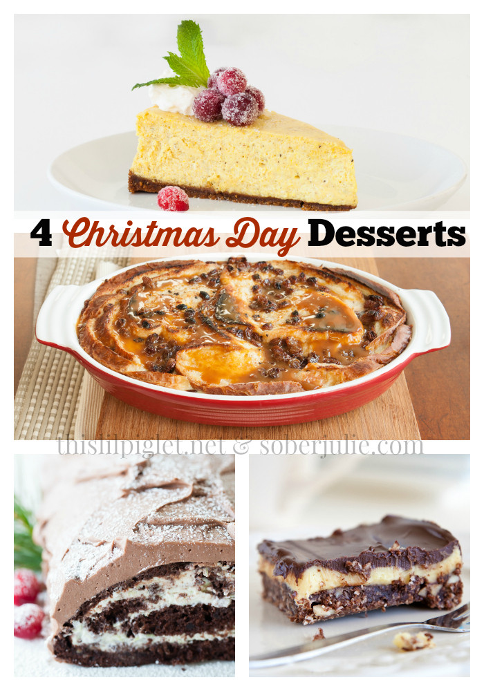 Christmas Day Desserts  Christmas Day Desserts and Epicure Holidays This Lil Piglet