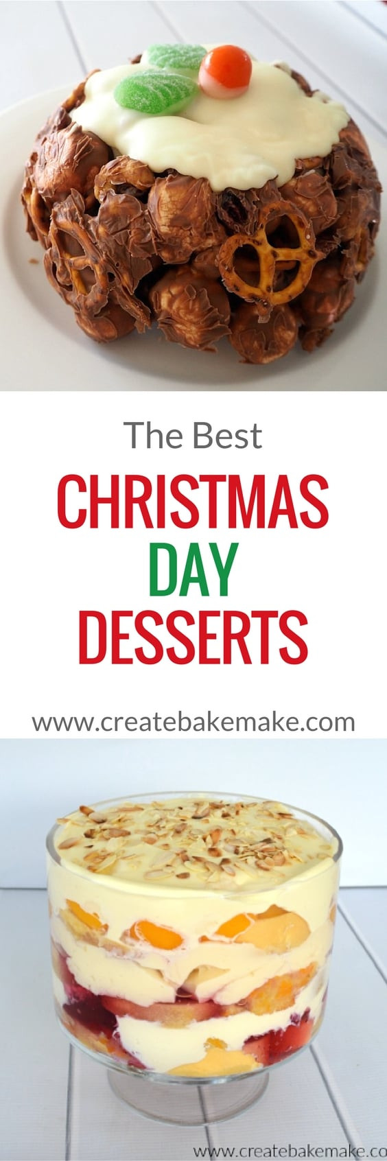 Christmas Day Desserts  The Best Christmas Day Desserts Create Bake Make