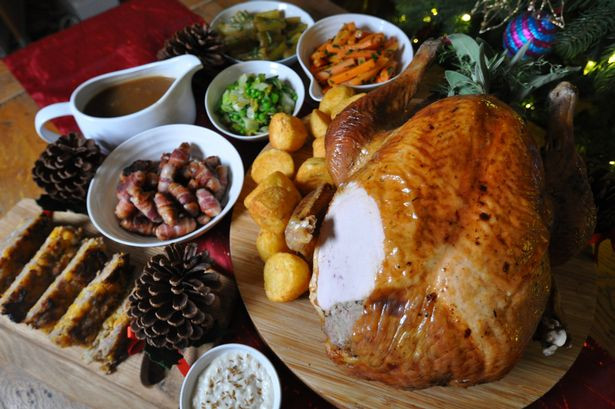 Christmas Day Dinner  Surrey and Hampshire s best Christmas Day menus from