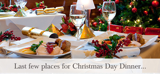 Christmas Day Dinner  Last few places for Christmas Day dinner at the Kings Arms
