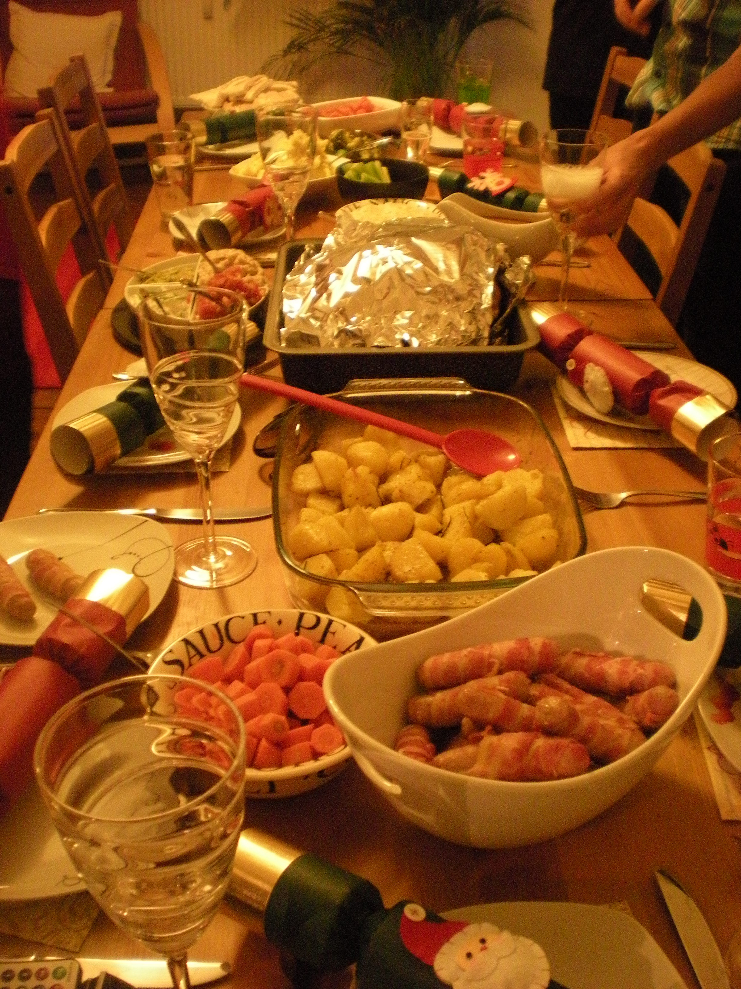 Christmas Day Dinner  A an Hour Christmas Dinner Day – Confuzzledom
