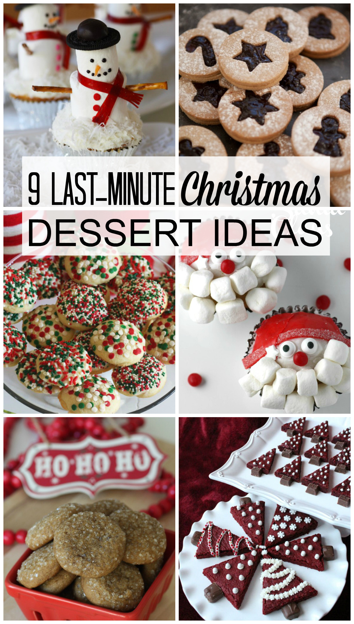 Christmas Dessert Ideas For Parties  9 Last Minute Christmas Dessert Ideas