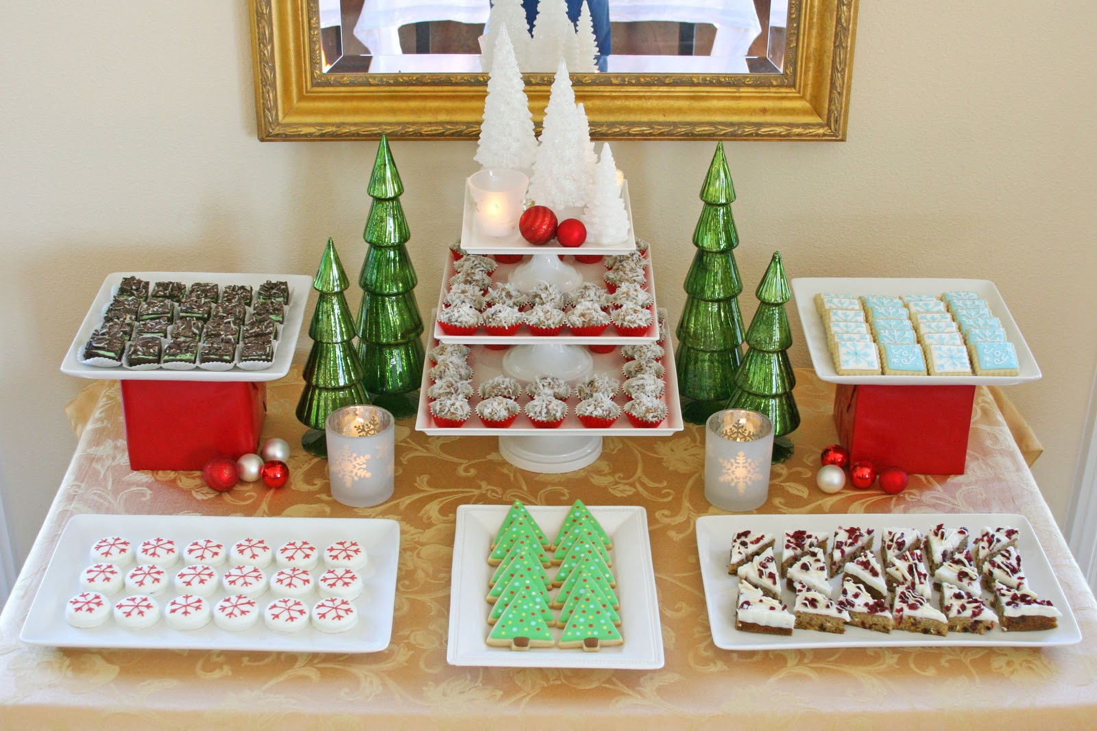 Christmas Dessert Ideas For Parties  Classic Holiday Dessert Table Glorious Treats