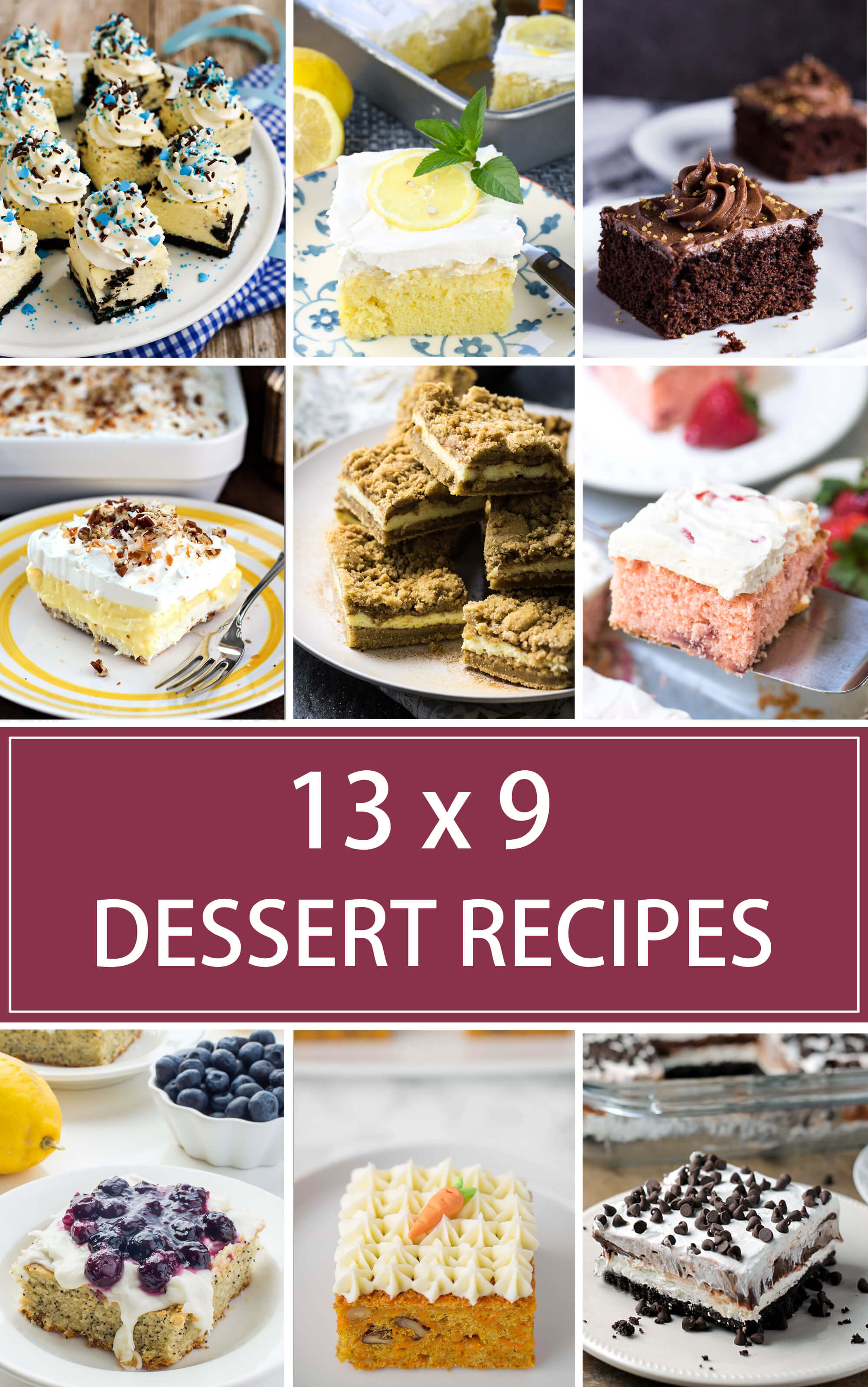 Christmas Desserts For A Crowd  13 x 9 Dessert Recipes for a Crowd Valerie s Kitchen
