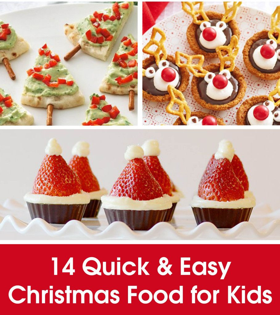 Christmas Desserts For Kids  14 QUICK & EASY CHRISTMAS FOOD FOR KIDS